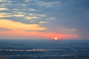 Sunrise at Badger Mountain