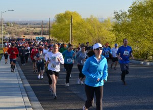 15k Starting Line, Over 500 Runners/Hikers