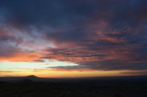 Summer Solstice Sunset From Badger Mountain