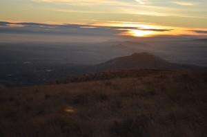 Sunrise from Badger
