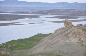 Hanford Reach National Monument Sandstone