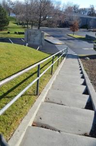 Stairway to Howard Amon Park