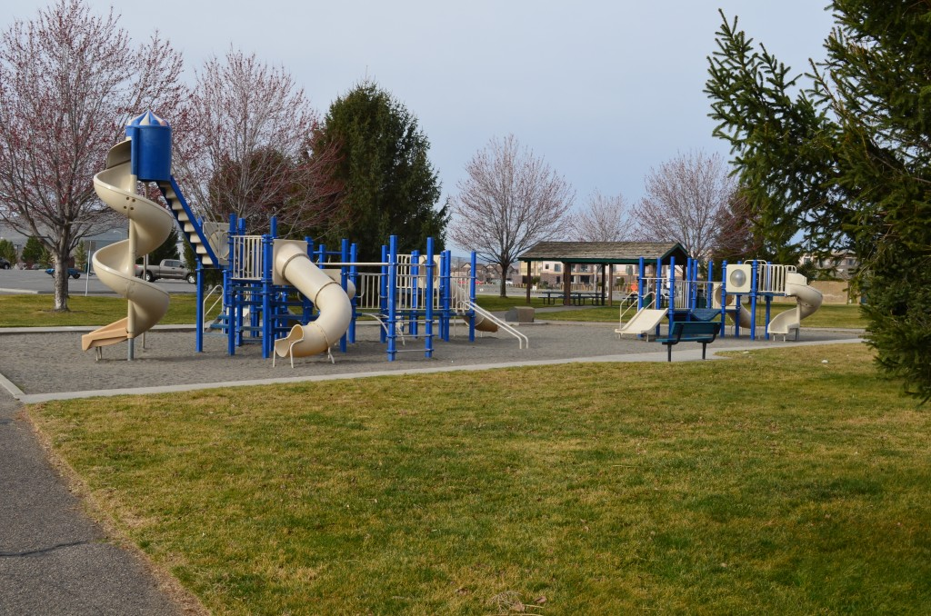 Playground Equipment at Columbia Point Marina Park