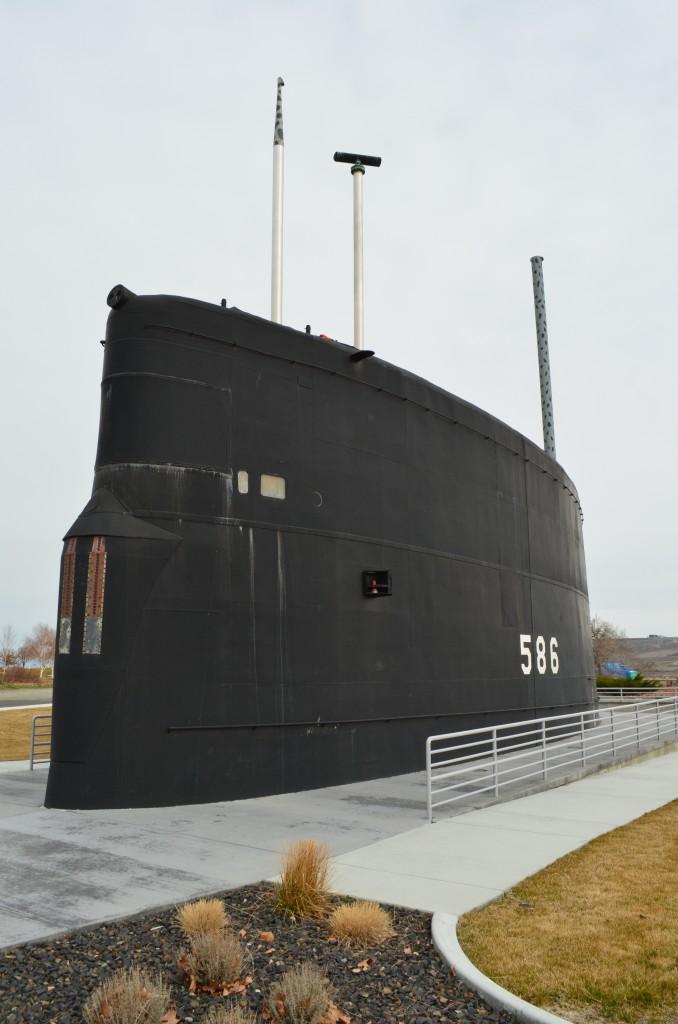 USS Triton Sail Permanently on Display at Richland's Submarine Park