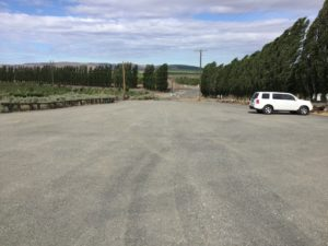 Newly expanded Dallas Road Trailhead Parking Lot