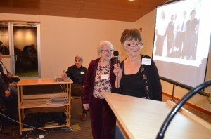 Friends of Badger Founder Sharon Grant Honoring Badger Mountain Pioneer Nellie Stott