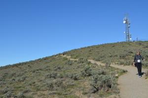 Near the summit on Badger Mountain