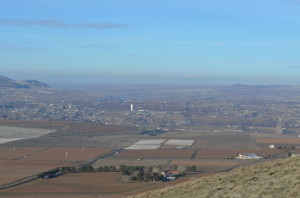 Benton City From the Top of Red Mountain