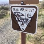 Vandals Strike on Badger Mountain