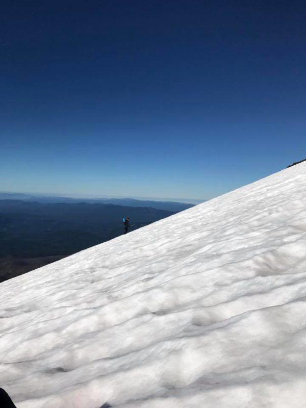 Alden on ascent