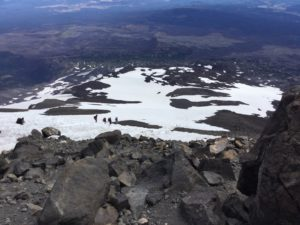 Descent from Piker's Peak, Lunch Counter below on Mt. Adams