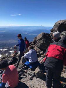 Everett, Chris, Dom, Rob on Piker's Peak