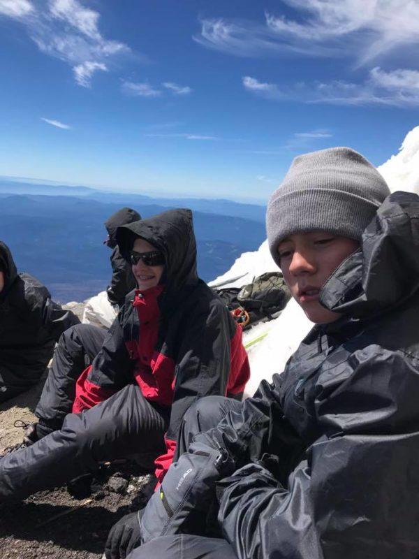 Everett and Josh on Piker's Peak