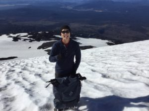 Justin on Mt. Adams
