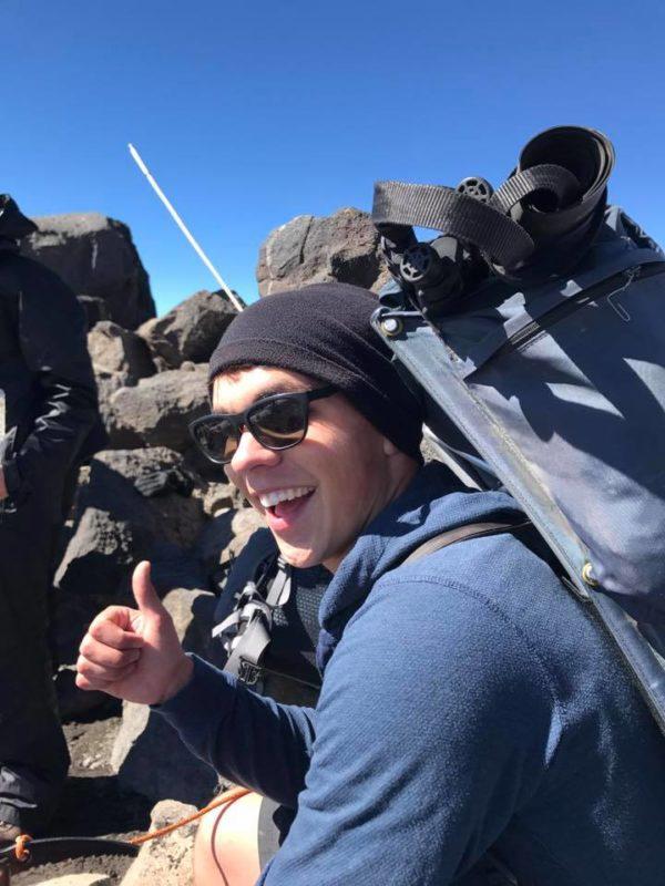 Justin on Piker's Peak