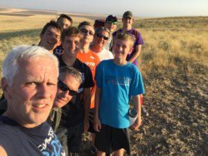 McBee hill practice hike 2