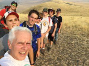 McBee hill practice hike 3