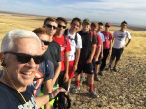 McBee hill practice hike