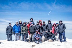Paradise Ward group on top of Mt. Adams, August 18, 2017