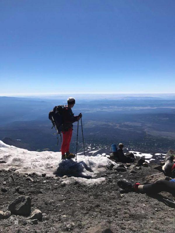Paul on Piker's Peak