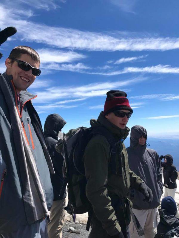 Rob, Chris, Craig on Piker's Peak