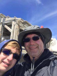 Waylon and Michael on top of Mt. Adams